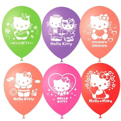 Детские шарики Hello Kitty