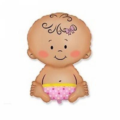 Купить фольгированный шар Малыш девочка