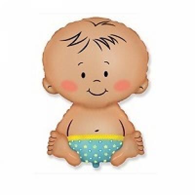 Купить фольгированный шар Малыш мальчик
