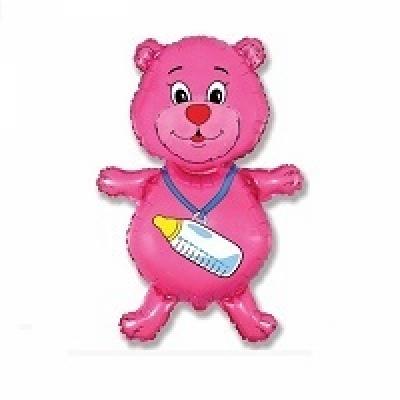 Купить фольгировання шар Медвежонок девочка