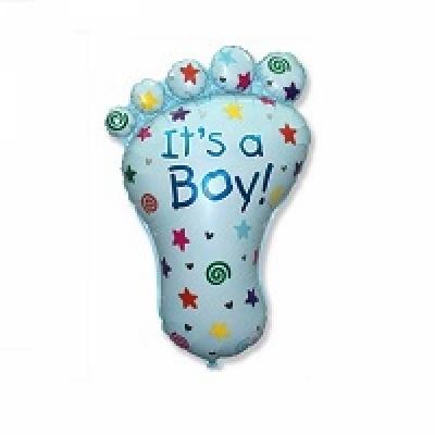Купить фольгированный шар Ступня мальчика