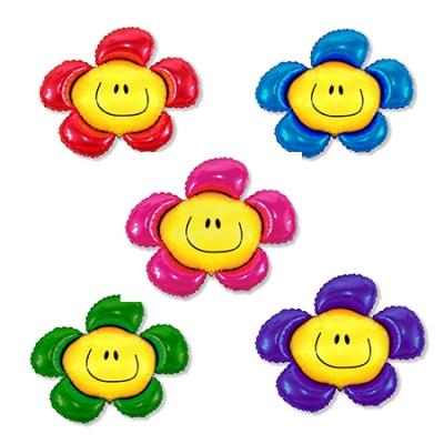 Фигурный цветочек - шар