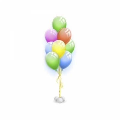 Фонтан из 7 шаров Эскимо