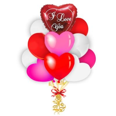 Разноцветная связка «I love you»