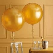 Большие шары золотые