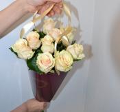 Букет роз в кульке