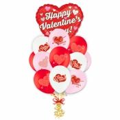 "Связка шаров ""Happy Valentine's Day"""