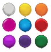 Круглый фольгированный шарик