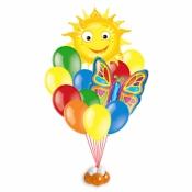 Летняя композиция с солнцем