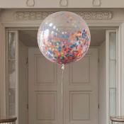 Метровый шар с конфетти