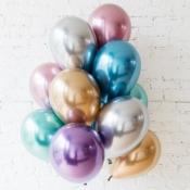 Металлизированные шары хром