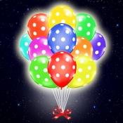 Светящиеся шарики в горошек