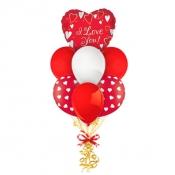 Связка шаров «Для любимой»