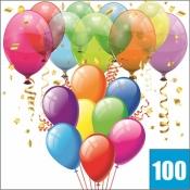 100 шаров с гелием