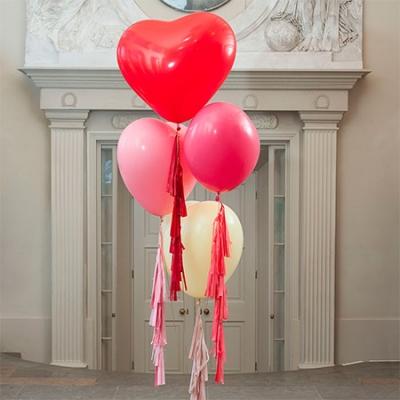 Воздушные шары «Большие сердца»